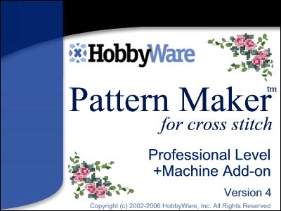 Pattern Maker for cross stitch