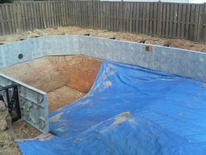 Как сделать крытый бассейн  пошагово фото