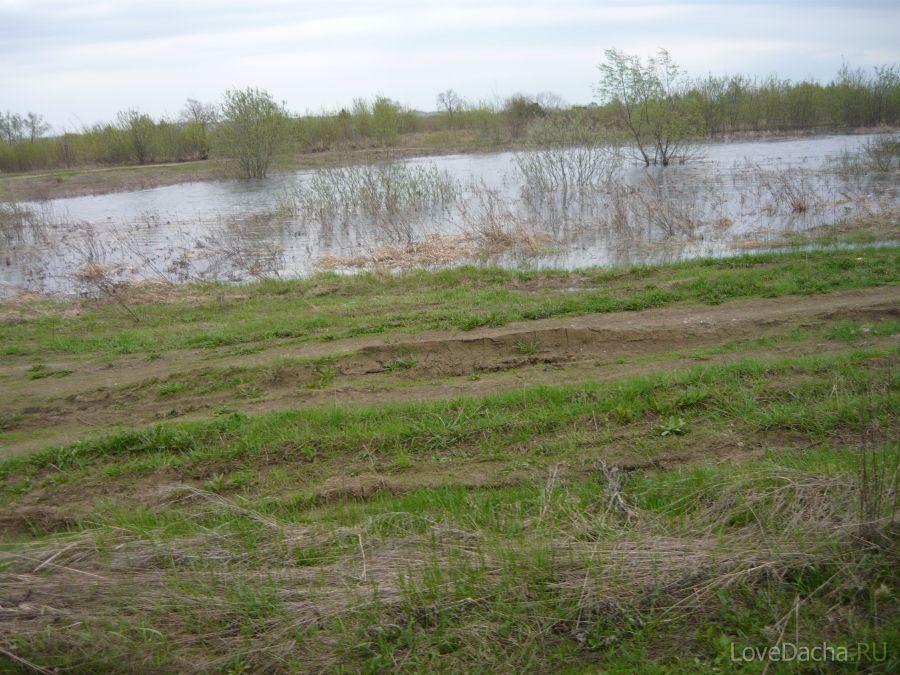 Паводок на Оке в Нижегородской области