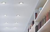 Врезные и накладные светильники